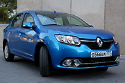 Renault Logan на тесте «КП»
