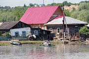 Барнаульский поселок Затон после паводка (июнь 2014 года)