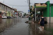 Краснодарские улицы не выдержали сильного ливня