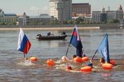 На реке Амур прошел русско-китайский заплыв «Дружба»