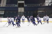 Тренировка хоккейного «Динамо»