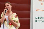 Открытие фестиваля документального и студенческого кино в рамках Шукшинских дней на Алтае (июль 2014 года)