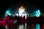 Денис Мацуев дал концерт на плавучей сцене на Байкале