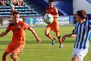 Футбол в Барнауле: «Динамо» - «Смена» (август 2014 года)