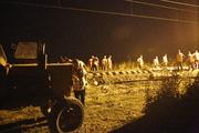 На Кубани с рельсов сошел пассажирский поезд