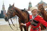 На Красной площади идет подготовка к фестивалю «Спасская башня»
