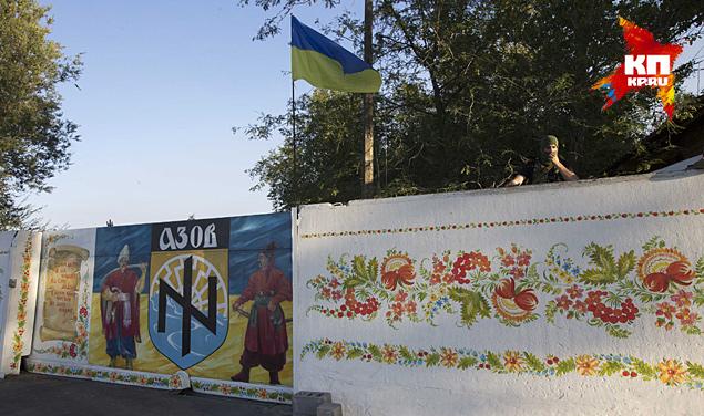 Бывшая дача Виктора Януковича на побережье Азовского моря стала базой одиозного батальона «Азов»