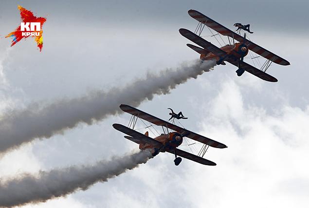 В Швейцарии стартовало грандиозное авиашоу AIR14