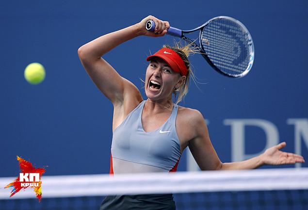 Шарапова проиграла Возняцки в третьем круге US Open