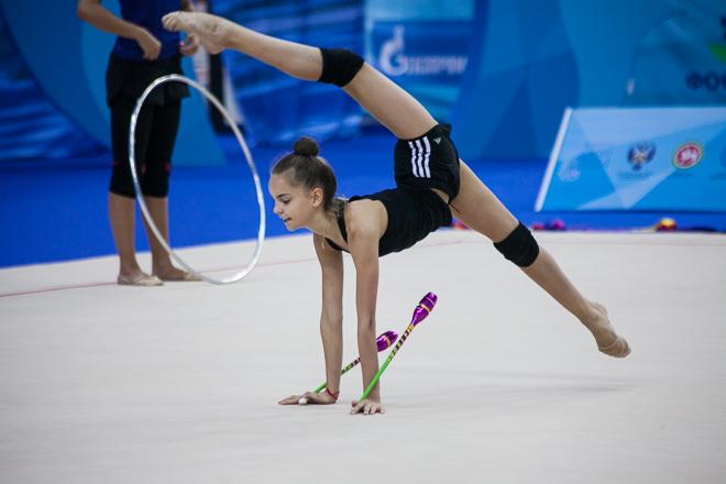 Тренировка российской сборной