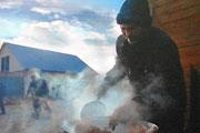 Фотовыставка Владимира Дубровского «Пастухи» в барнаульской галерее «Бандероль» (сентябрь 2014 года)