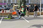 В Воронеже прошел ежегодный фестиваль уличных направлений City Scream