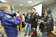 Хоккеисты «Молота» встретились с болельщиками.