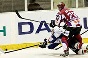 Хоккей в Барнауле: «Алтайские беркуты» (Барнаул) – «Южный Урал-Металлург» (Орск) (сентябрь 2014 года)