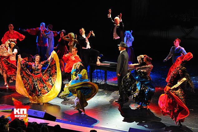 В Центральном театре Российской армии состоялась премьера мюзикла «Pola Negri»