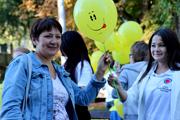 В Волгограде отметили День смайлика