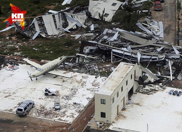 """Жертвами урагана """"Одиль"""" в Мексике стали четыре человека"""