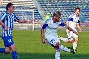 Футбол в Барнауле: «Байкал» (Иркутск) – «Динамо» (Барнаул) (сентябрь 2014 года)