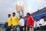 Футболисты «Монако» опробовали газон «Петровского»