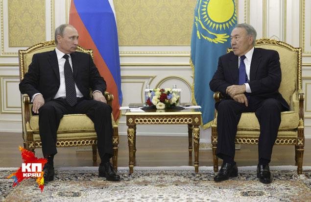В Атырау прошла встреча президентов России и Казахстана
