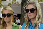 Сестры Никки и Пэрис Хилтон посетили Неделю моды в Париже