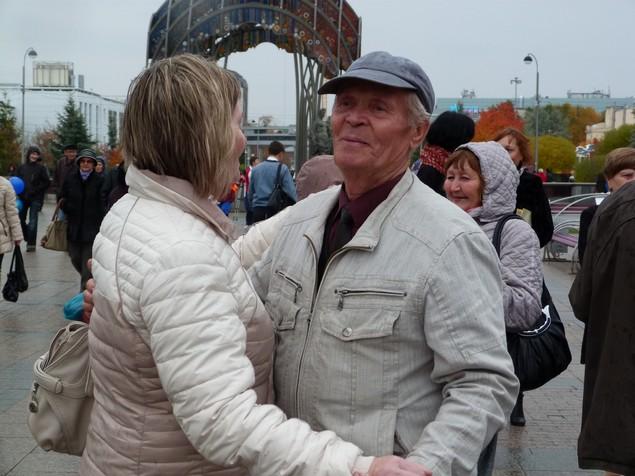 День пожилых в тюмени