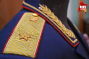 Новосибирское военное ателье вышивает кители золотом