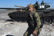 Ополченцы сражаются за аэропорт Донецка