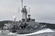 ВМС Швеции продолжают искать подлодку, о которой ничего не известно