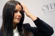 Оксана Федорова представила свою коллекцию одежды на Неделе моды в Москве