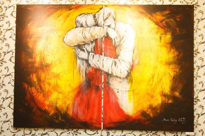 Молодых художников русская любовь