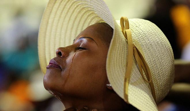 В ЮАР простились с тремя известными атлетами, погибшими на прошлой неделе.