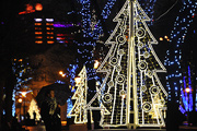 Москву подсветили по-зимнему