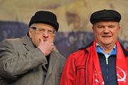 В День народного единства в Москве проходят митинги и шествия