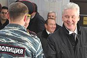 Мэр Собянин и глава МВД Колокольцев поздравили полицейских с профессиональным праздником