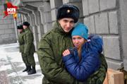 Новосибирские призывники отправились служить в Президентский полк