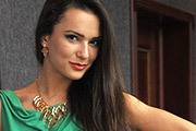 Участницы конкурса «Краса России 2014» продемонстрировали вечерние наряды