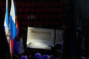 В четверг российский хоккей проводил в последний путь легендарного тренера Виктора Васильевича Тихонова. Церемония прощания прошла в Ледовом дворце спорта ЦСКА.