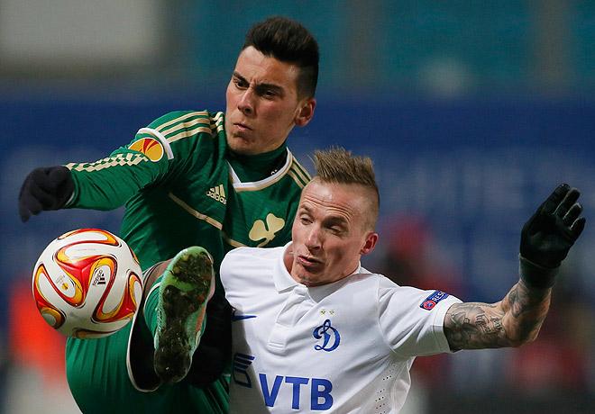 После домашней победы над греческим «Панатинаикосом» московское «Динамо» гарантировало себе выход в 1/16 финала футбольной Лиги Европы с первого места.