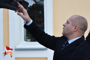 Федор Емельяненко в Новосибирске побывал на литургии и кубке смешанных единоборств