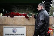 Митинг, посвященный 20-й годовщине начала чеченской военной кампании