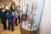 В Казани открылась выставка советских елочных игрушек
