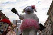 Парад Дедов Морозов в Краснодаре