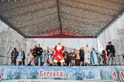 Парад Дедов Морозов в Воронеже