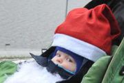 В столице состоялся забег Дедов Морозов