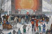 Выставка Юрия Чулюкова к 65-летнию автора в Выставочном зале Союза художников России в Барнауле (декабрь 2014 года)