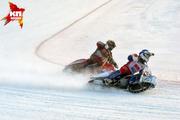 В Новосибирске прошел полуфинал Личного чемпионата России по мотогонкам на льду