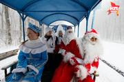 В Ставрополе Деды Морозы проверили готовность парка к Новому году