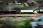 Выставка миниатюрных поездов открылась в Краснодаре
