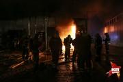 Крупный пожар в Краснодаре
